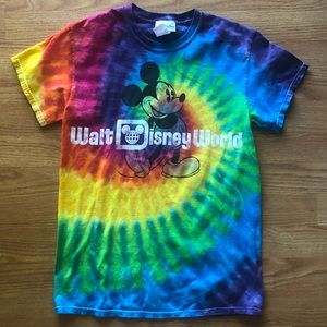 Disney parks tie dye Mickey Mouse